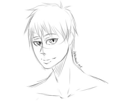 Akashi Sketch by MoonLightSadness10