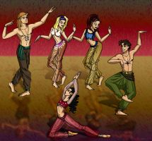 Indian Dance by insectikette