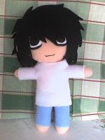 chibi L plushie 2 by VioletLunchell
