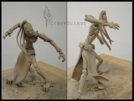 Ivy Figure from Blame by CyberDuende