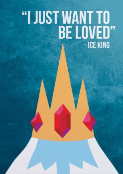 Adventure Time - Ice King by beccyboo-412