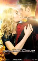 The Amazing Spider-Man 2 Peter and Gwen Poster by Enoch16