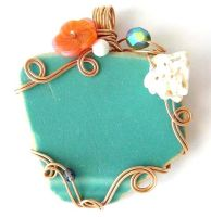 Siren Song Pendant by sojourncuriosities