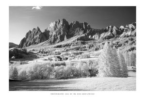 Cortina, Dolomites - II IR by DimensionSeven
