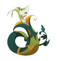 Serperior by Frozenspots