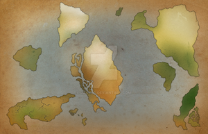 Map progress for an upcoming book. by Jaacqs
