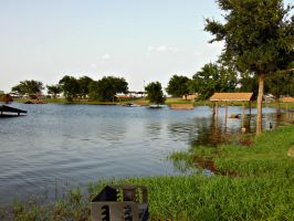Lake Lewisville Flooding by Kitheren