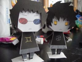HS: 2ollux and KK paperdolls by dark--romance