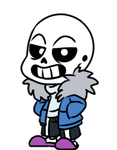 Sans Page Doll by DerseDragon