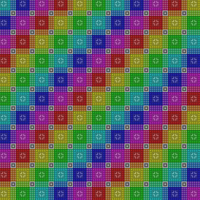 Gradient Tile Pattern by Humble-Novice