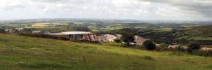 Mid Cornwall - Panorama by kaelby