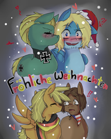 Present For MorgiSchmorgi ~ Froehliche Weihnachten by Ask-Pony-GerIta