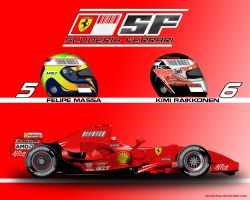 Ferrari F2007 by ShinjiRHCP