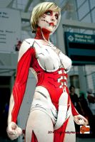 AX2014 Female Titan Cosplay by broken-with-roses