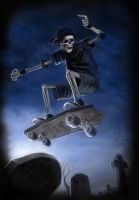 Board to Death fin by dashinvaine