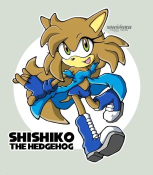 Here come ShiShiko by Pichu-Chan