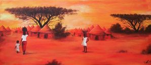 African painting by ArwenEvenstar16