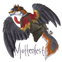 Badge - Mottenfest by Corvidraline
