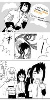 Sasuke vs Hawk by nyuhatter