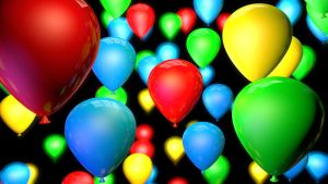Colorful Balloons by Boosman