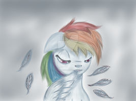 Rainbow Dash by AshesDarkPony