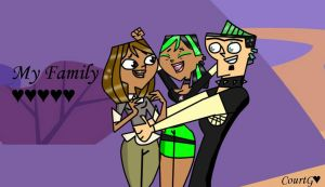 ''_CxDxD__Duncan and Courtney Family_by_CourtG'' by CourtG