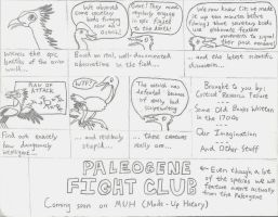 Paleogene Fight Club by Albertonykus