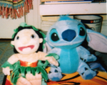 Lilo and Stitch plushie stuffed dolls by Stitchthebest36
