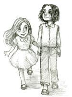 Lily and Sev by courtneygodbey