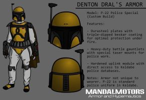 MandalMotors Armor File: Denton Dral by Vhetin1138