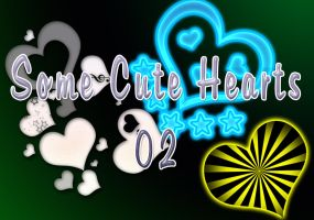 Some cute Hearts 02 by All4Glory