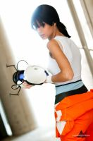 cosplay Chell -6 by sadakochan87