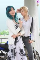 Haruka and Michiru by FairyDustProductions