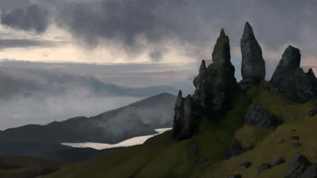 The Old Man Of Storr-dy by Holmes-JA