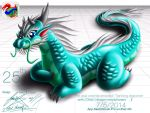 The asia oriental emerald i Tianlong draconer by thefastzza