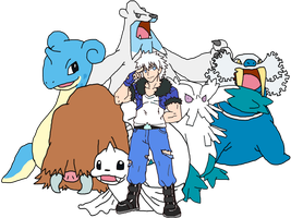 Elite Four Member Evian by ryugaxryoga