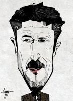 Caricature Aidan Gillen as Petyr Baelish by VampirGoth