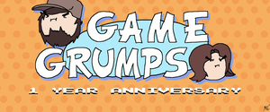 Game Grumps 1 Year Anniversary (Without Char) by KCampbell499