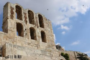 Odeon of Herodes Atticus by DionysosBacchus