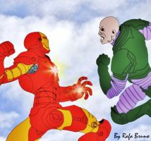 Tony Stark Vs  Lex Luthor by rafabruno0