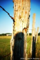 Wood Fence 4 by jrbamberg