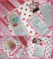 Sweets Recipe Page by bandeau