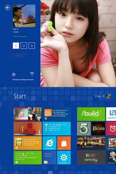 My 'Windows 8' by jaycee13