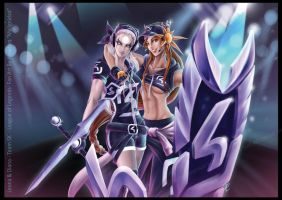 Diana and Leona SK by Arrietart