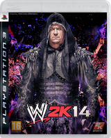 WWE 2K14 Cover ~ Undertaker edition by MhMd-Batista