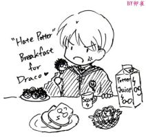 HP-Breakfast for Draco by feather0524
