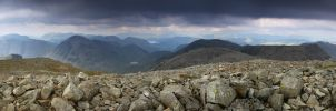 View from Scafell Pike by DamianKane