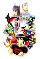 DCAU Tribute by slifertheskydragon