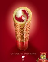 Olympic Torch Roll by nelos