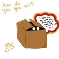 To get out of the box by dcoolit